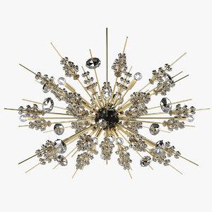 3d lobmayr opera chandelier light