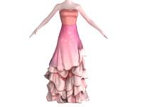 3d dress clothes
