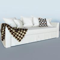 holmsund sofa 3d obj