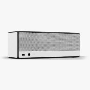 speaker sony srs-x3 white 3d fbx