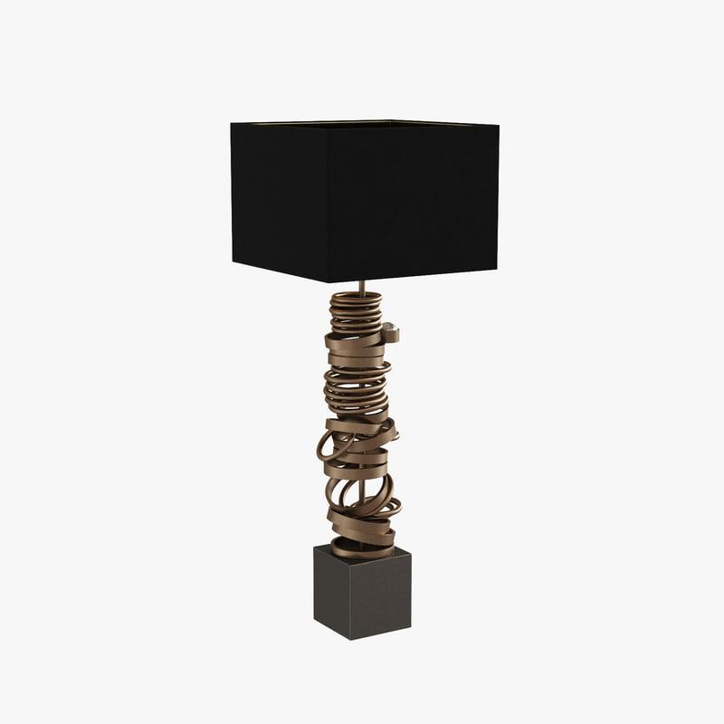 cl1900 ar table lamp 3d max