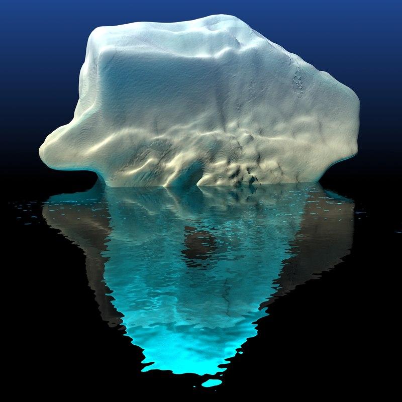 iceberg 2 3d model