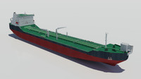 3d offloading icebreaker tanker oil model