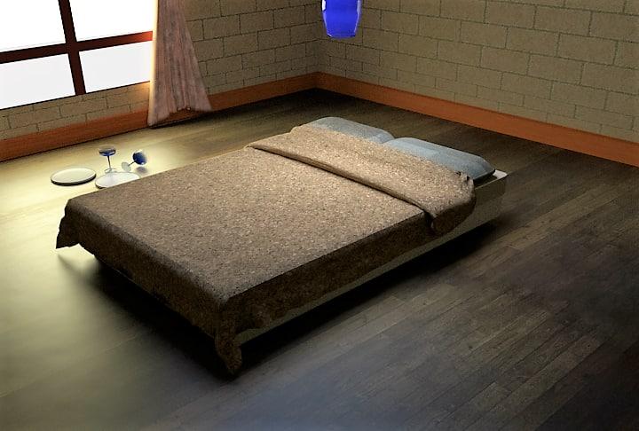 3d model of bedroom