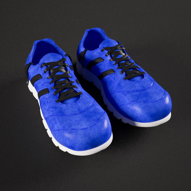 shoes men 3d model