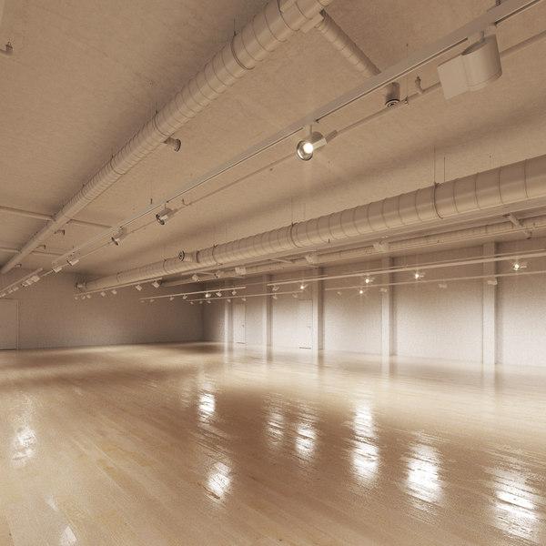 3d model art gallery
