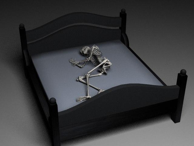 skeleton 3d max