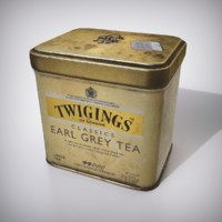Tea Can for Games & Renders