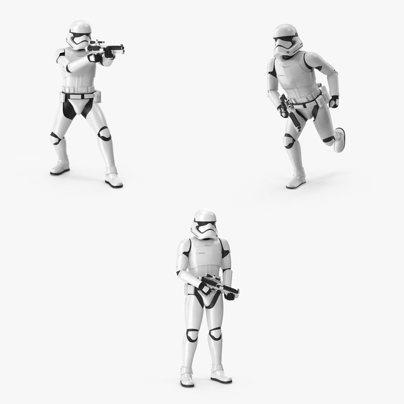 posed stormtrooper pack max