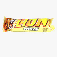 lion bar white 3d model