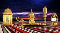 ramadan decoration 3d max
