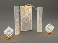 3d islamic decoration