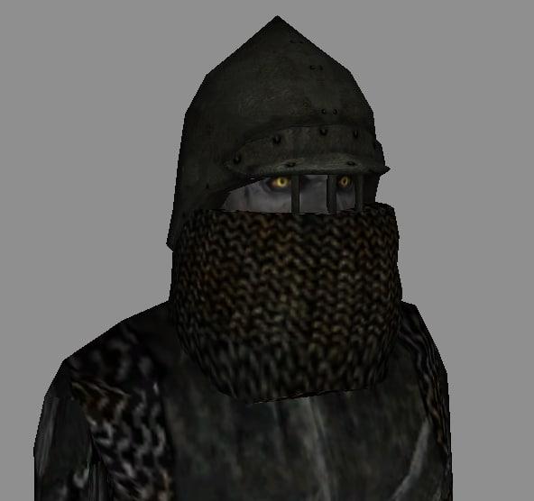 orc helmet 3d model