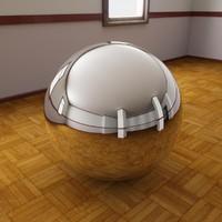Parquet Room 360 HDRI