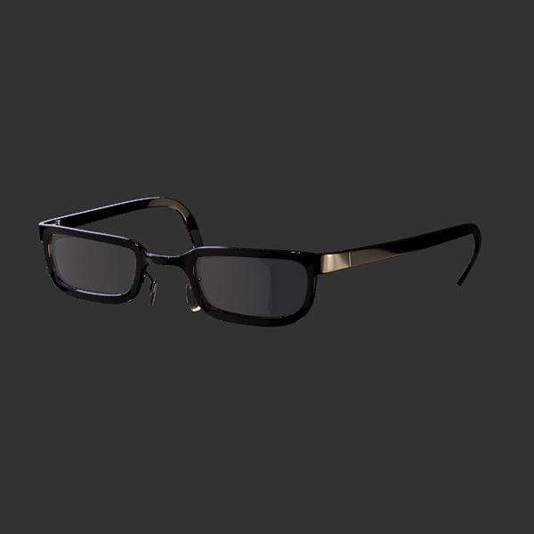 glasses 12 3d model