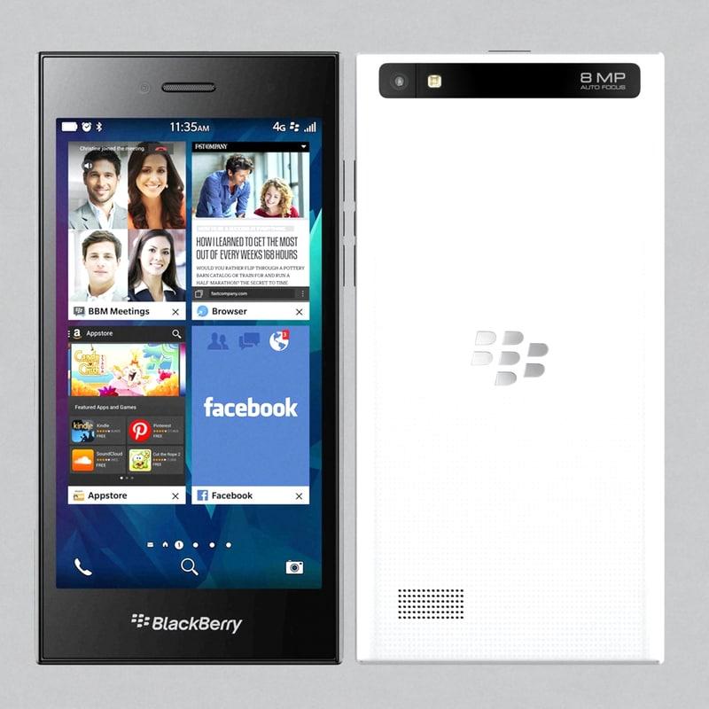 blackberry leap 3d max
