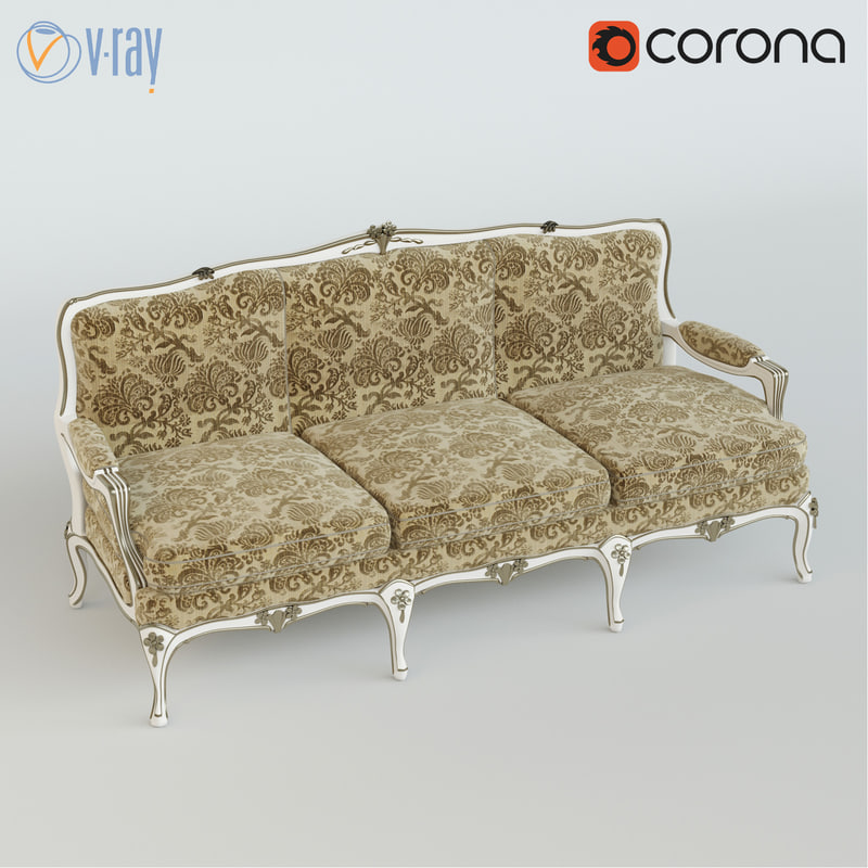 zanaboni sofa 3d model