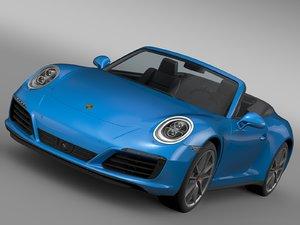 porsche 911 carrera 4 3d model