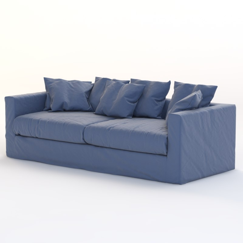 contemporary livingroom 3d model