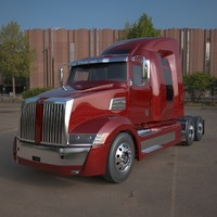 3d western star 5700 sleeper model