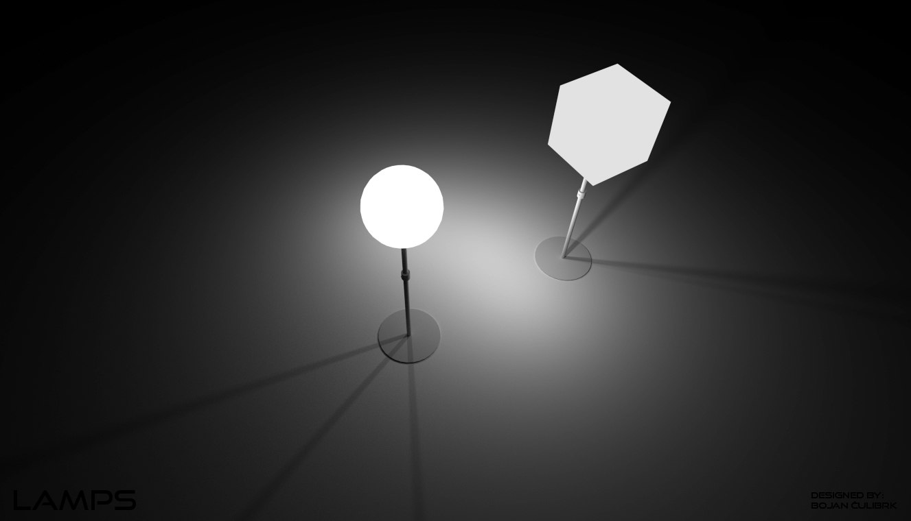 lamps obj