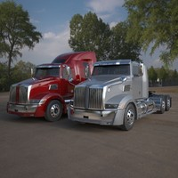 Western Star 5700 Semi Trucks Pack