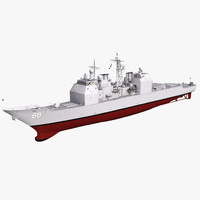 ticonderoga class cruiser hue 3ds