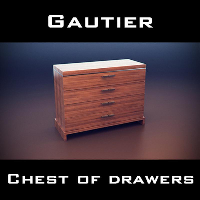 gautier yoko chest drawers max