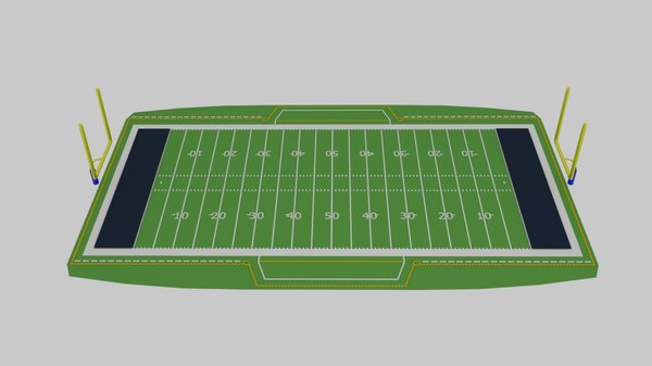 superbowl field 3d model