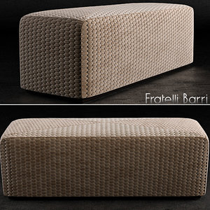 banquette forli 3d model