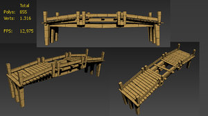 3d broken bridge