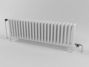 radiator heating 3d max