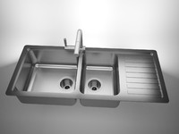 sink solidworks 3d model