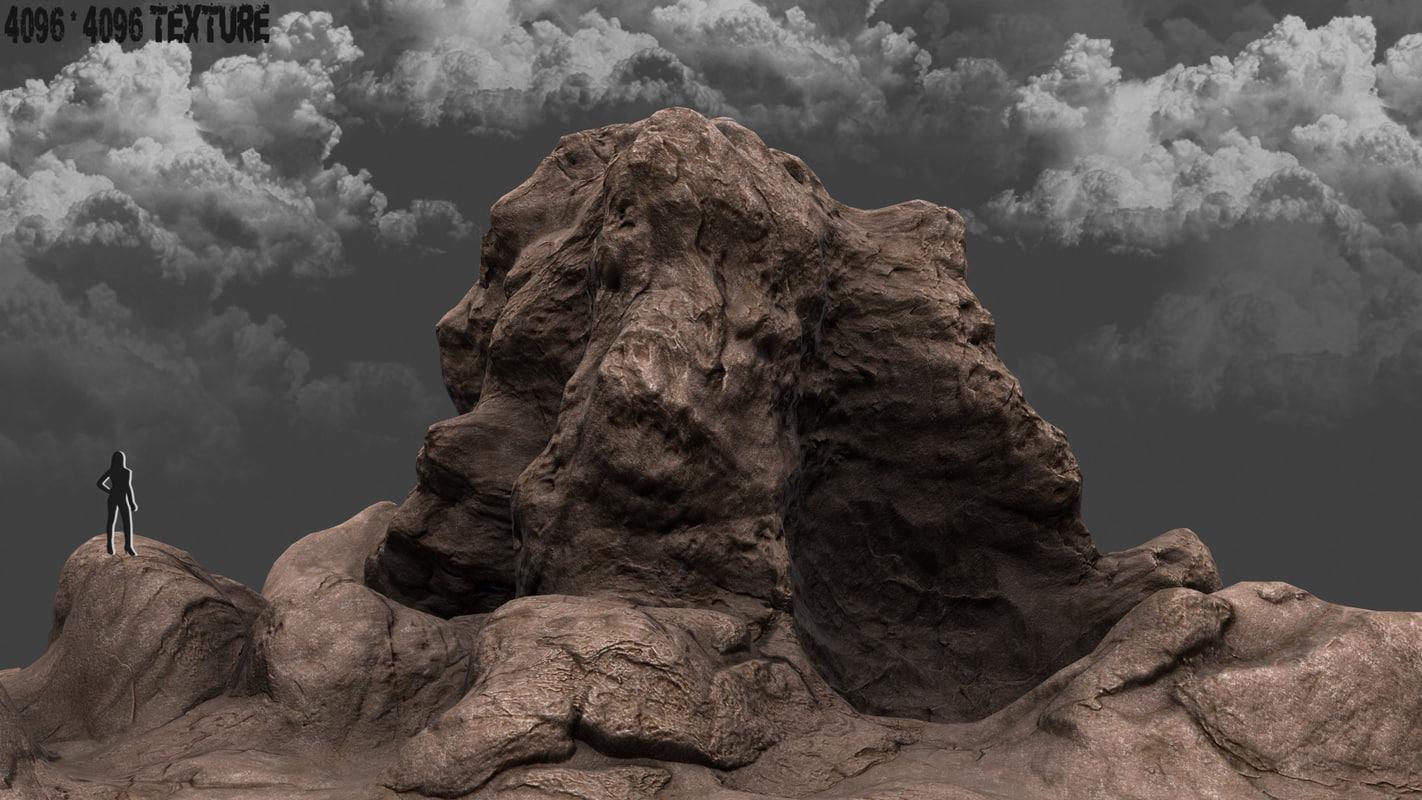 3d mountain mount