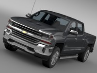 3d chevrolet silverado country st model
