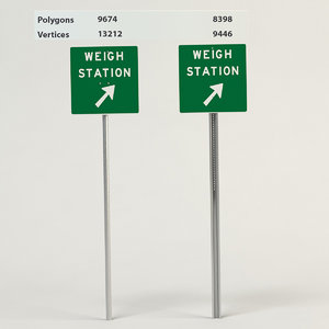 3d model weigh station
