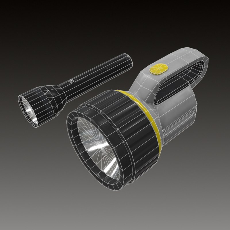 3d flash light