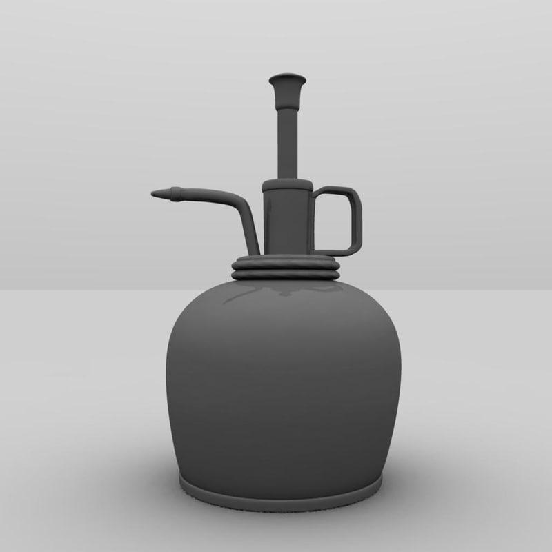 3ds vintage oil pump