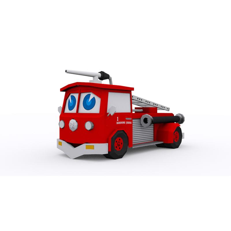 3d enginer cartoon