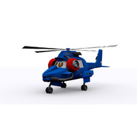 cartoon hellicopter