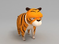 max cartoon tiger