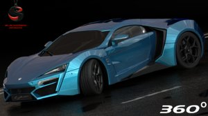 3d w motors lykan hypersport