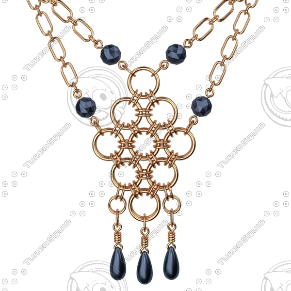 necklace 3ds