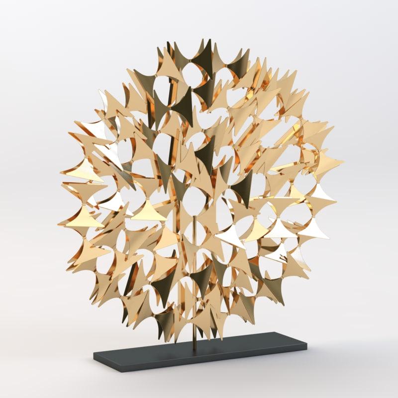 3d model of light