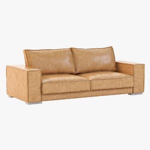 3d model sofa sunpan baretto