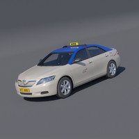 Dubai taxi Toyota Camry