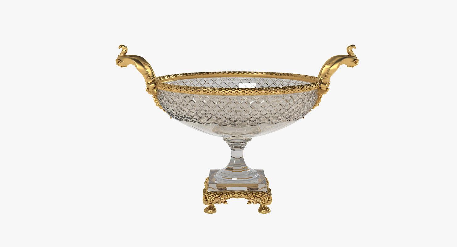 french vase 3d model