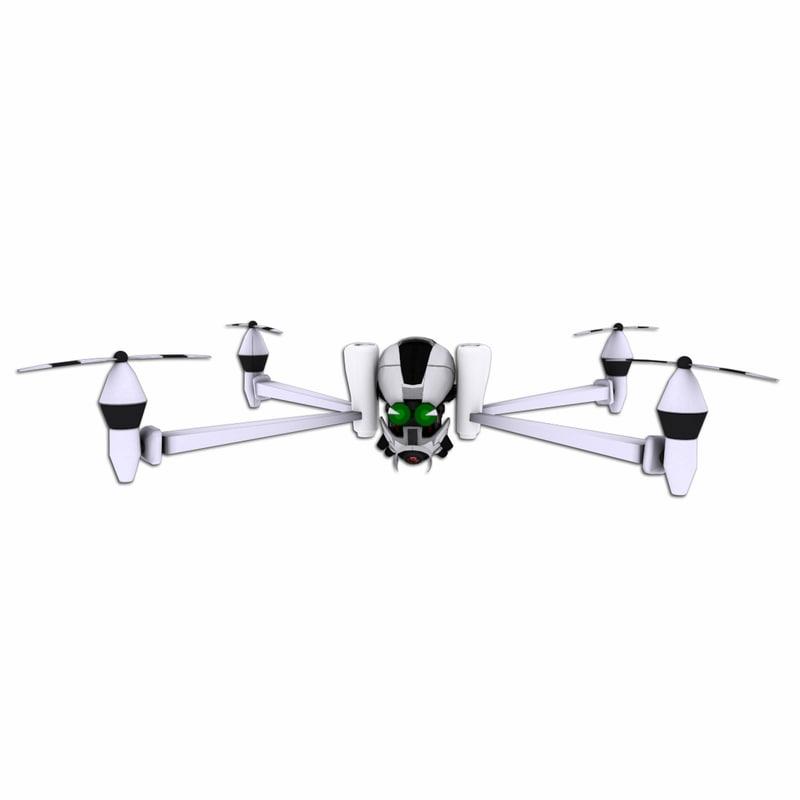 max cartoon quadcopter