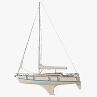 Sailboat Princess II (Sails Down)