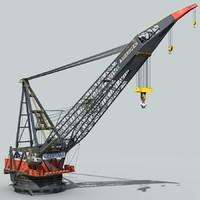 Vessel crane